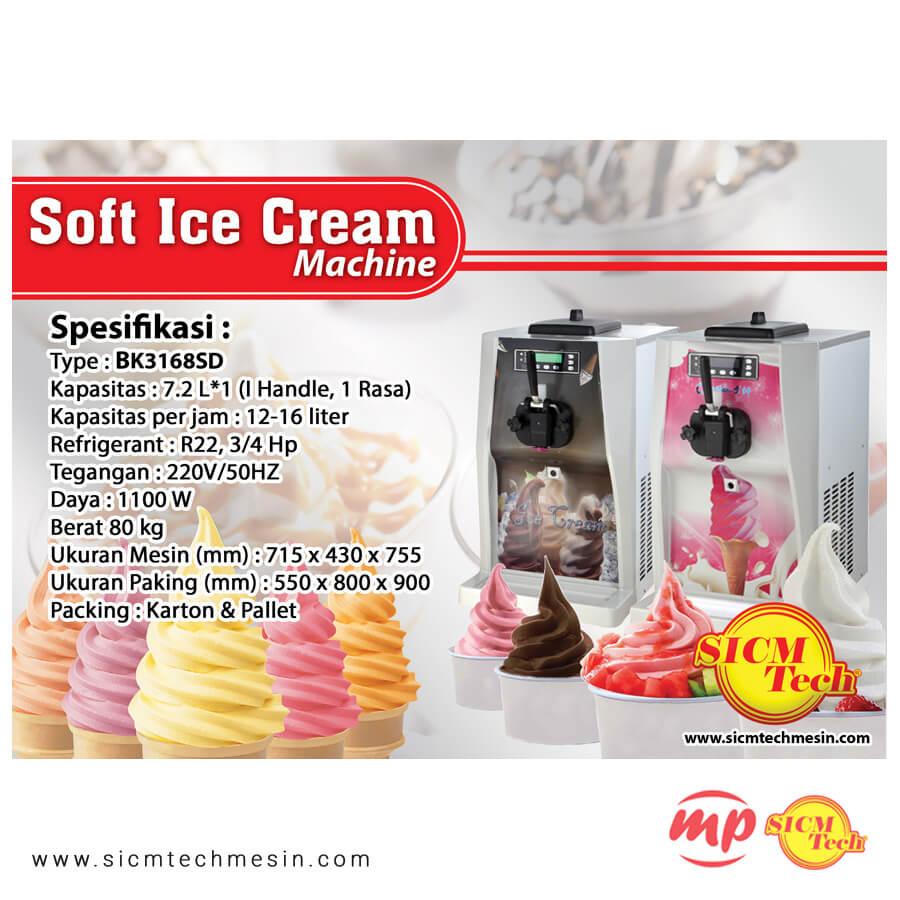 BK3168SD Ice cream Machine