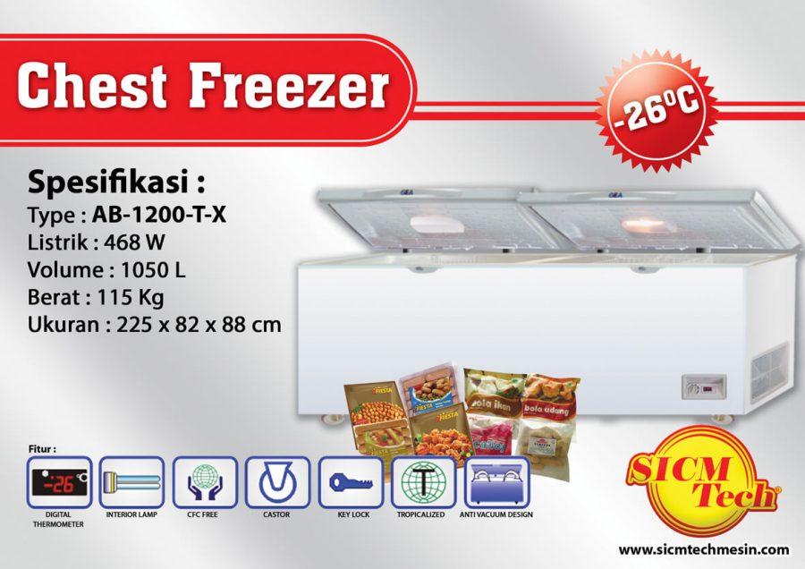 Chest Freezer AB 1200-T-X