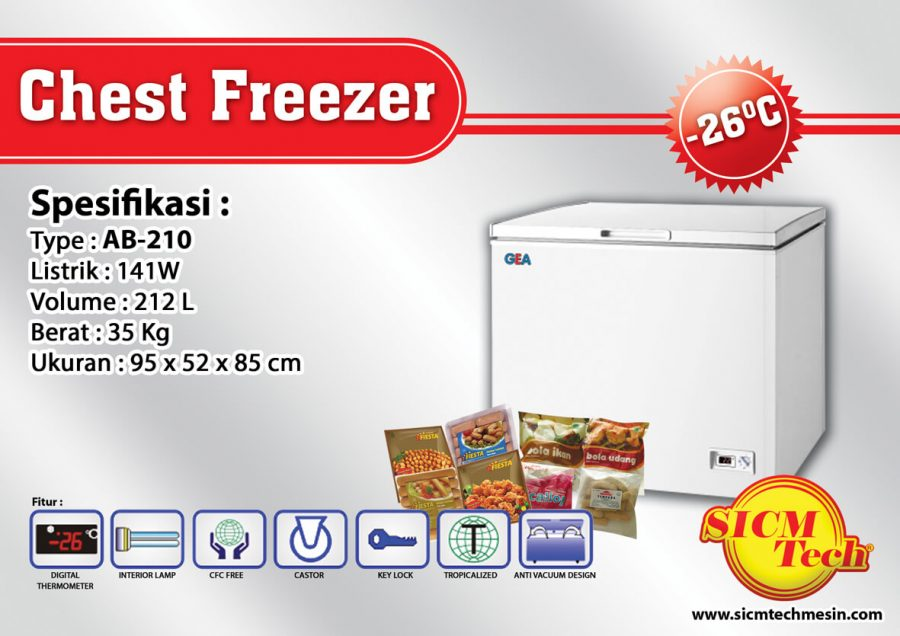 Chest Freezer AB 210