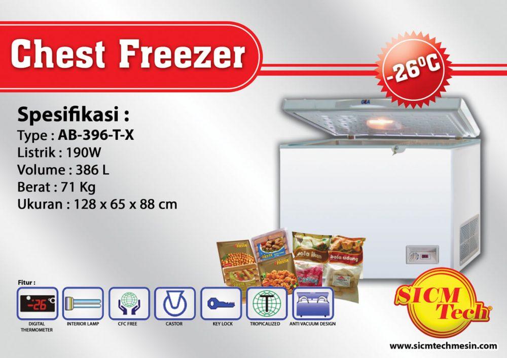 Chest Freezer AB 396-T-X