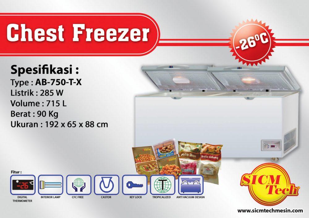 Chest Freezer AB 750-T-X