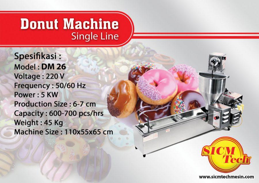 Donut Machine DM 26