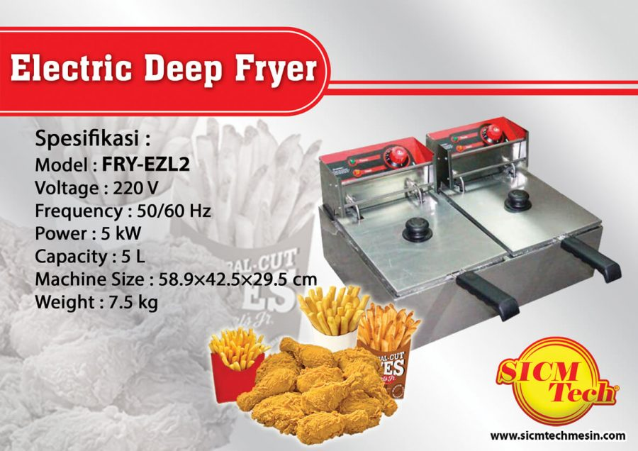 Electric Deep Fryer FRY-EZL2