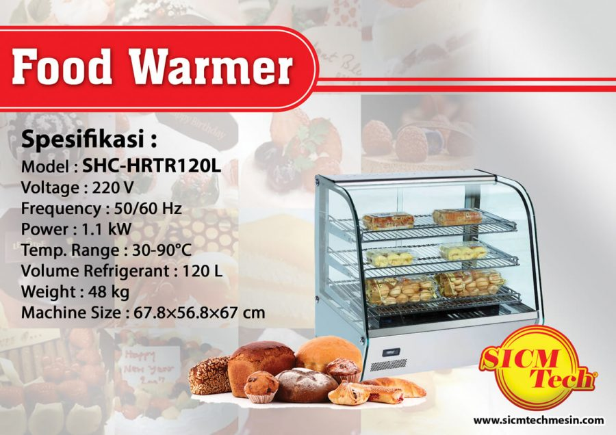 Food Warmer SHC-HRTR120L