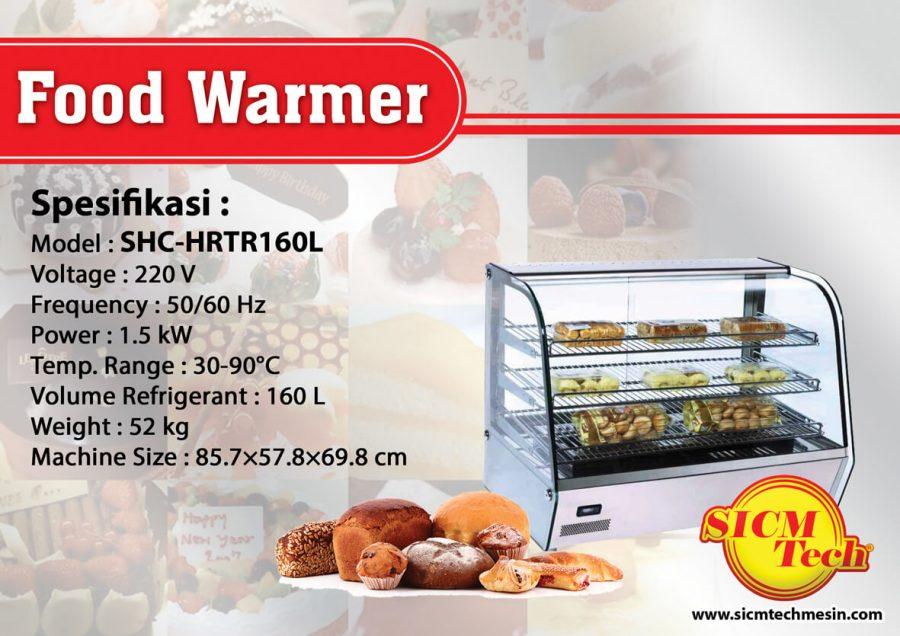 Food Warmer SHC-HRTR160L
