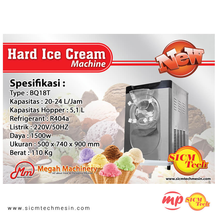 Hard Ice Cream BQ18T