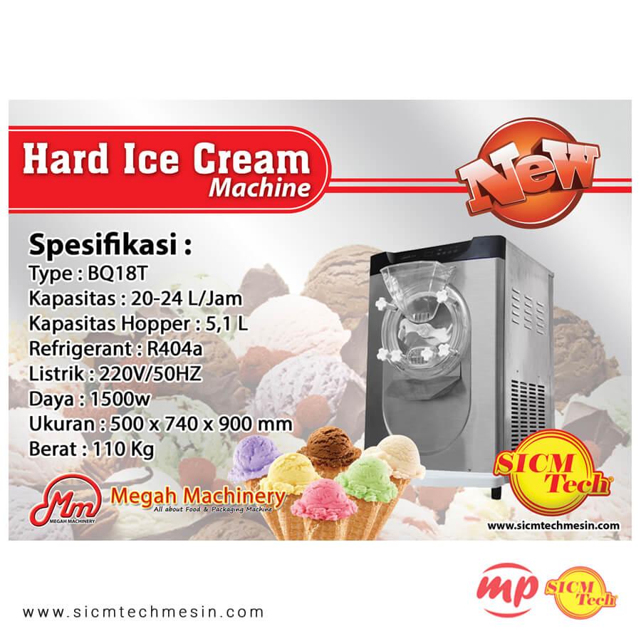 Hard Ice Cream BQ18T