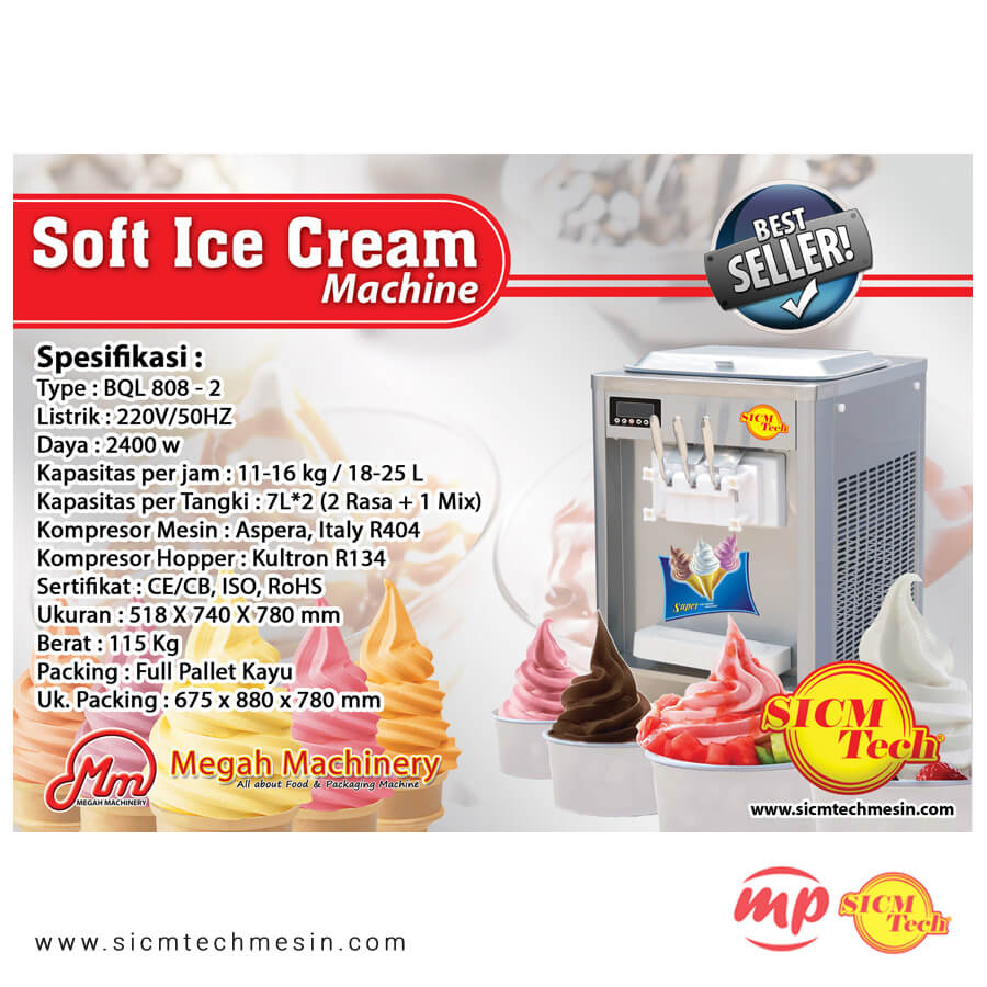 Ice Cream BQL 808 New 2 Kompresor