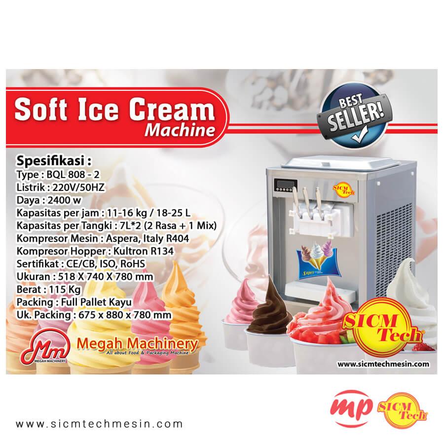 Ice Cream BQL 808 New 2 Kompresor