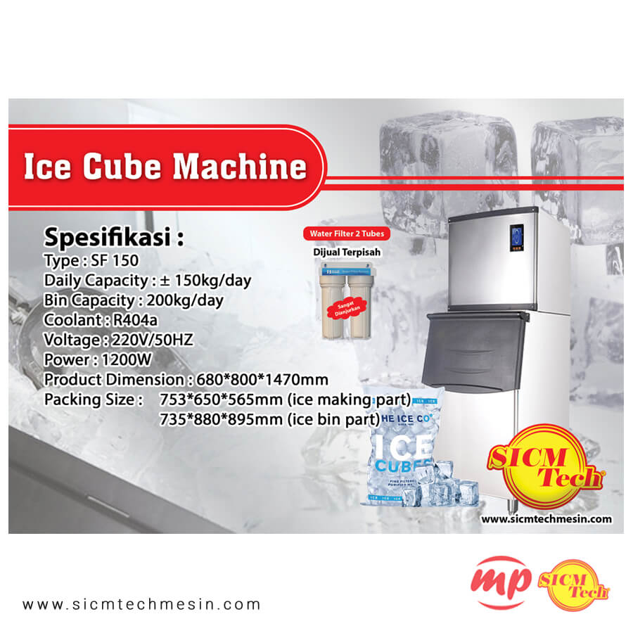 Ice Cube Machine 150