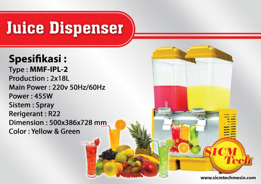 Juice Dispenser MMF-IPL-2