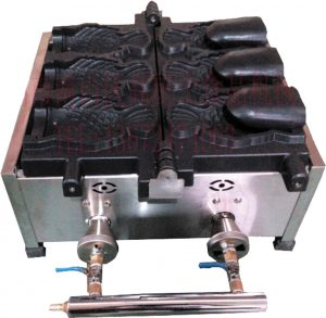 Taiyaki 3 cetakan GAS
