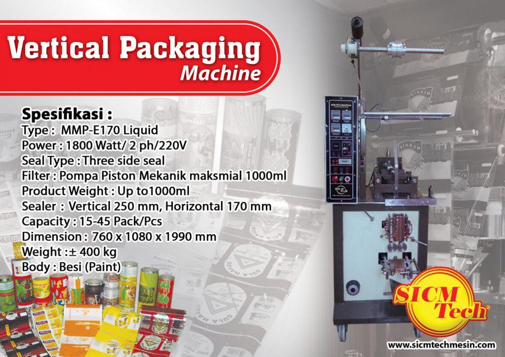Vertical Packaging Machine SICM Tech MMP Paint Liquid