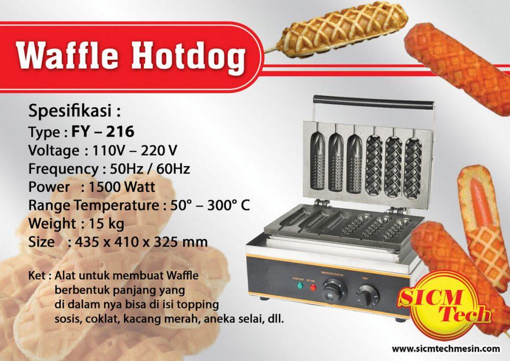 Waffle HotDog FY216
