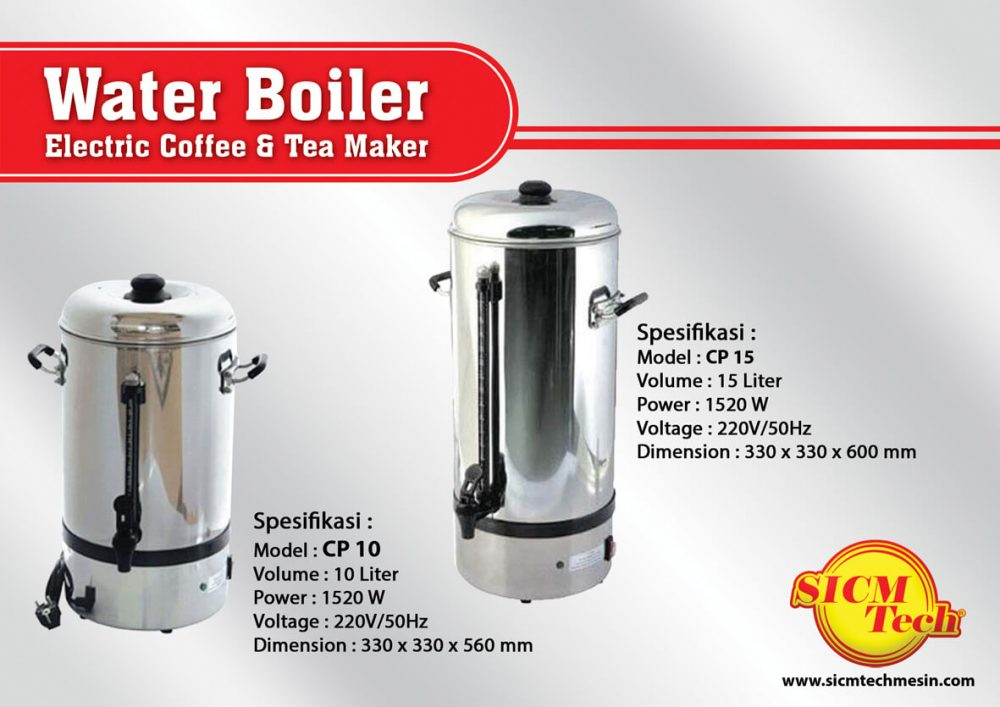 Water Boiler Electrik Coffee & Tea Maker Gea