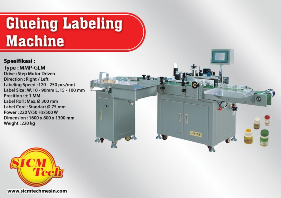 Glueing Labeling Machine
