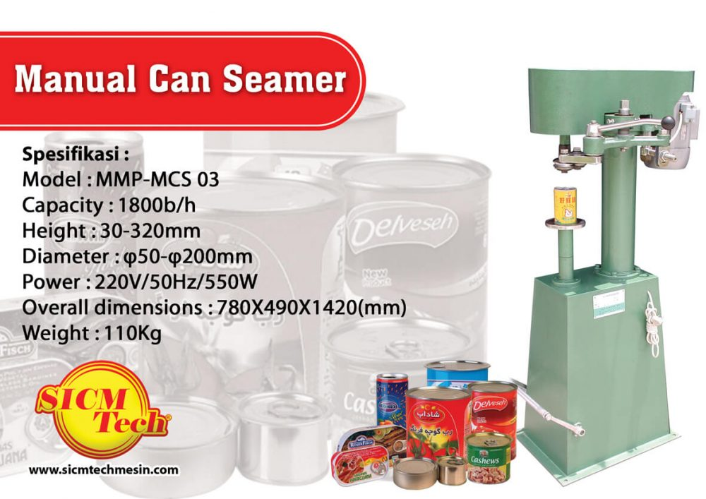 Manual Can Steamer