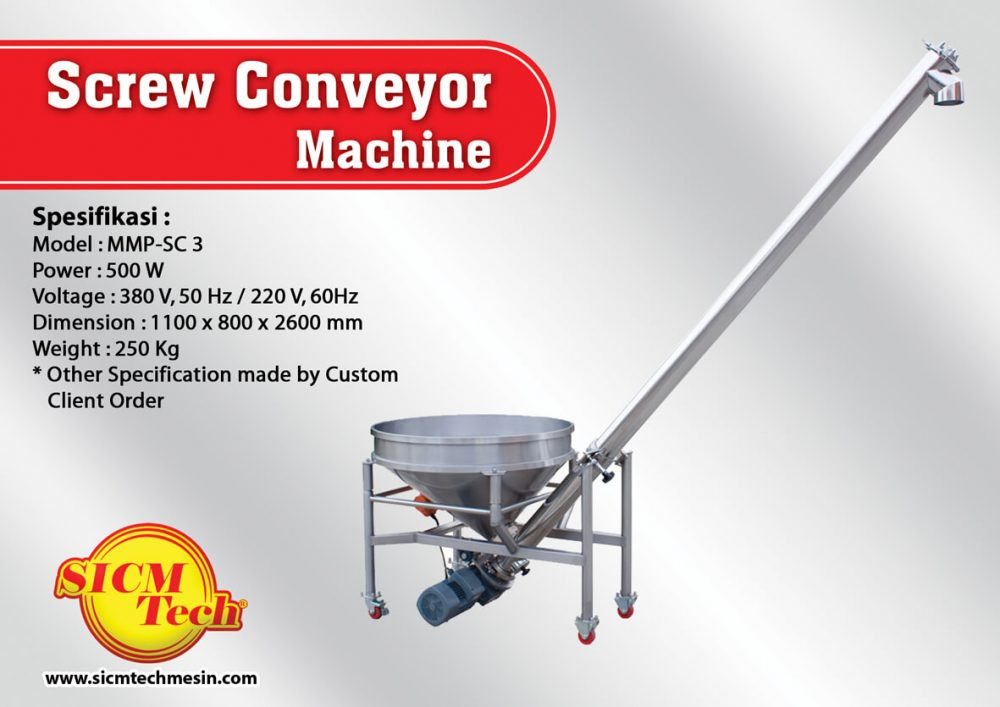 Screw Conveyor Machine