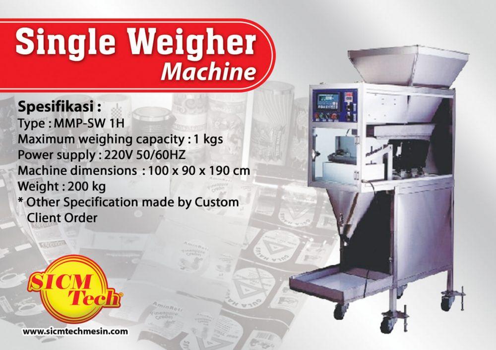 Single Weigher Machine