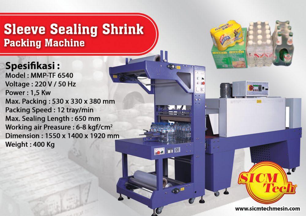 Sleeve Sealing Shrink Packing Machine