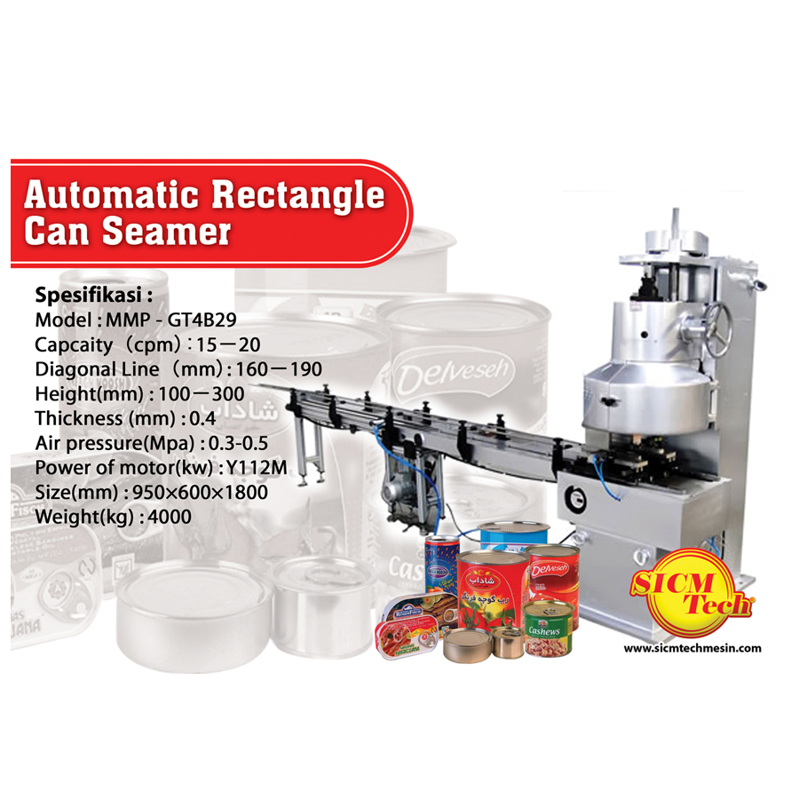 Automatic Can Steamer
