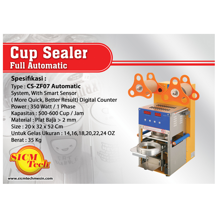 Cup Sealer CS-ZF07