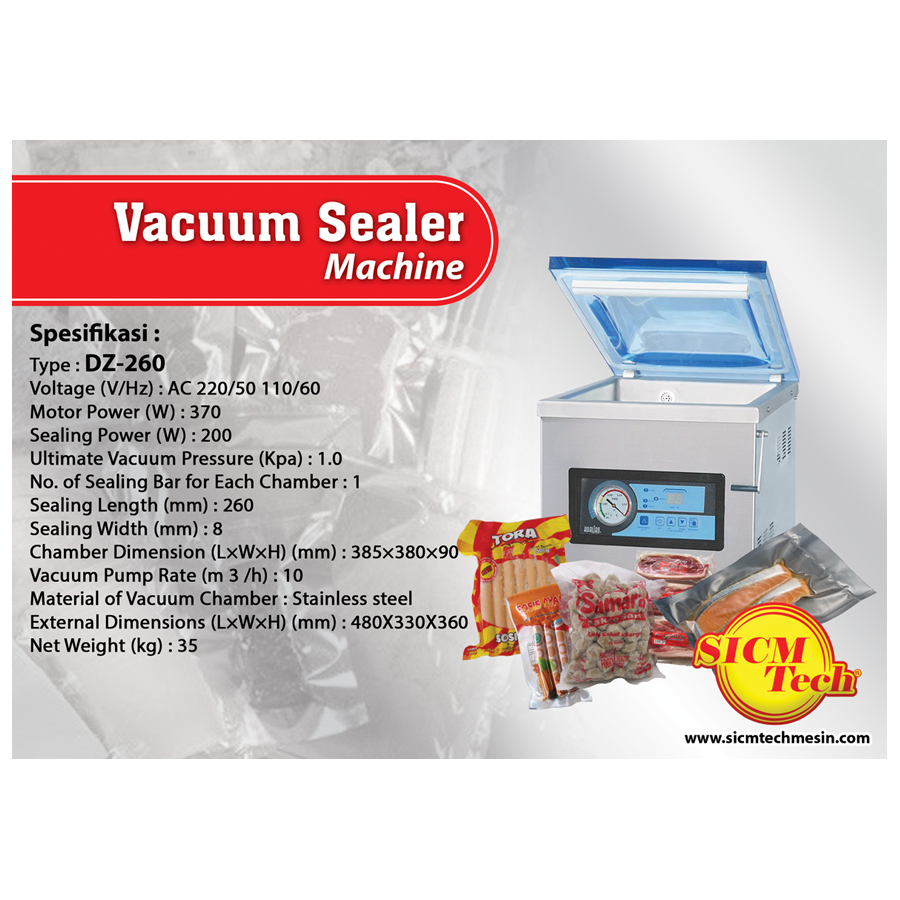 Vacuum Sealer DZ260