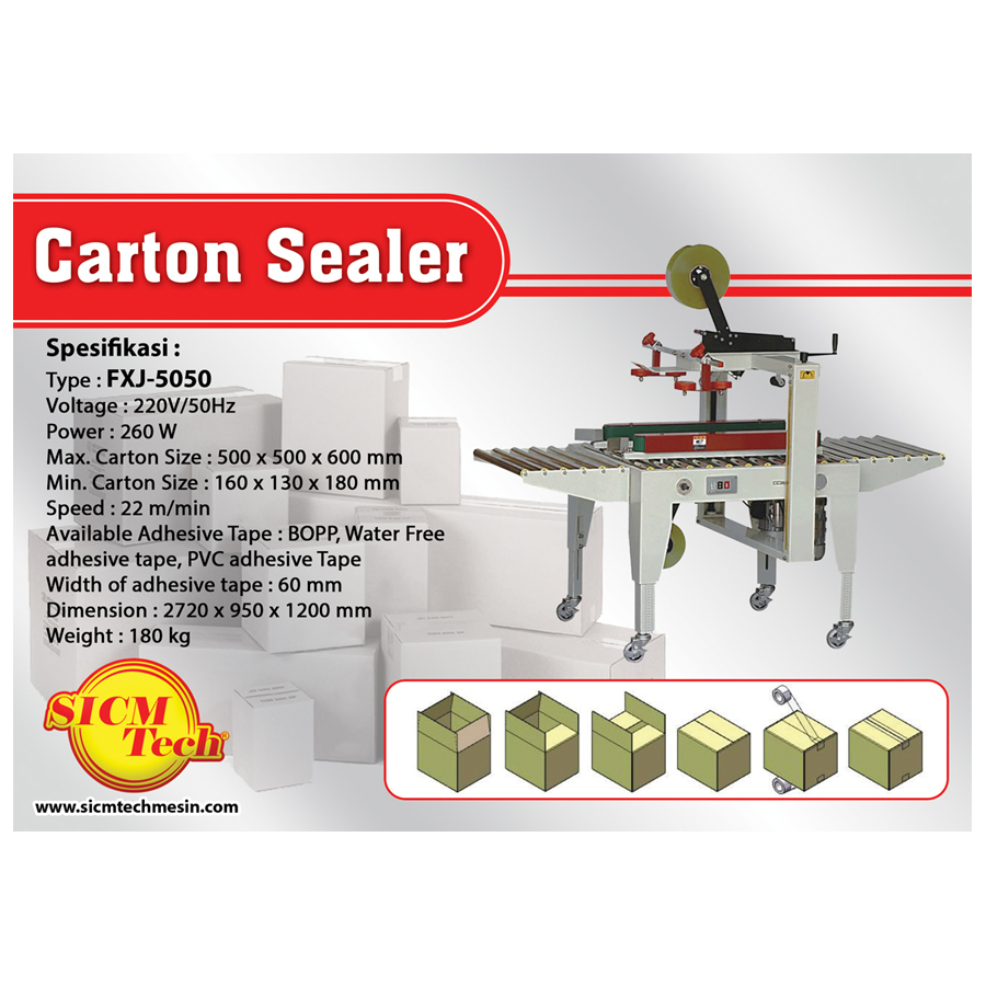 Carton Sealer MM 5050