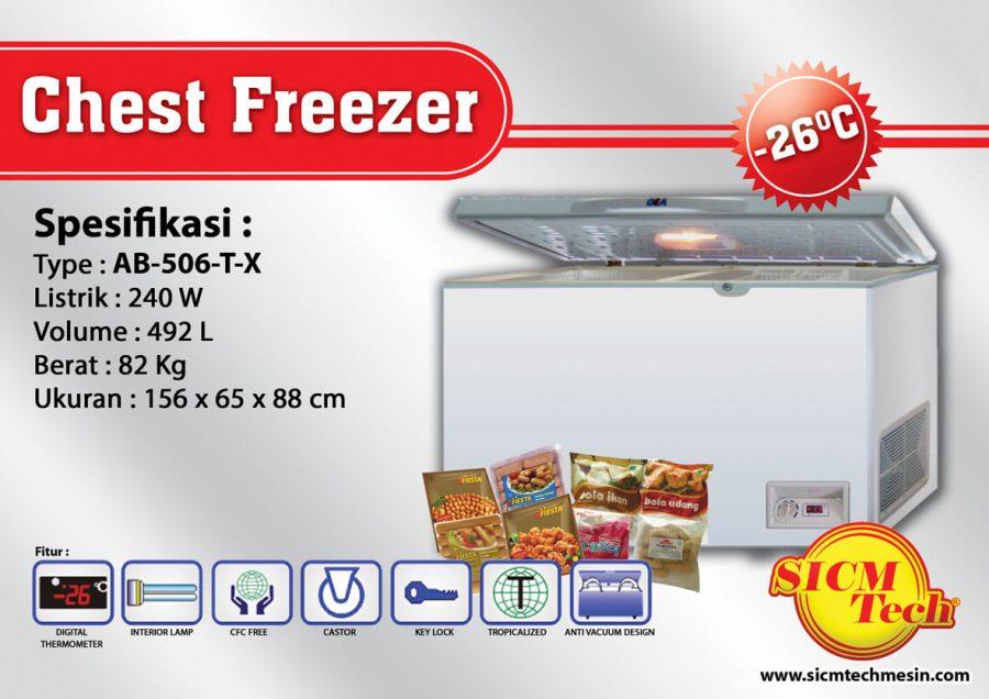 Chest Freezer AB 506-T-X