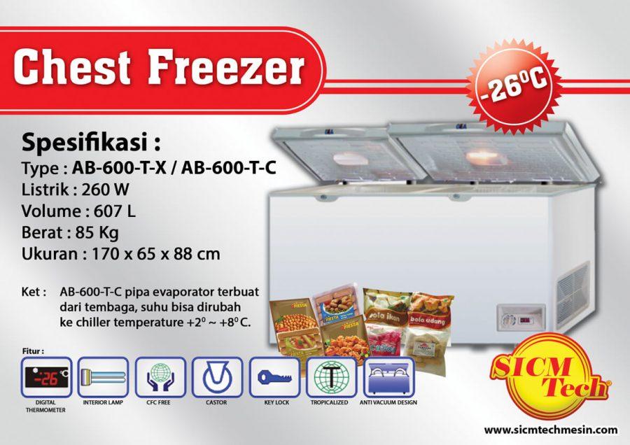 Chest Freezer AB 600-T-X T-C