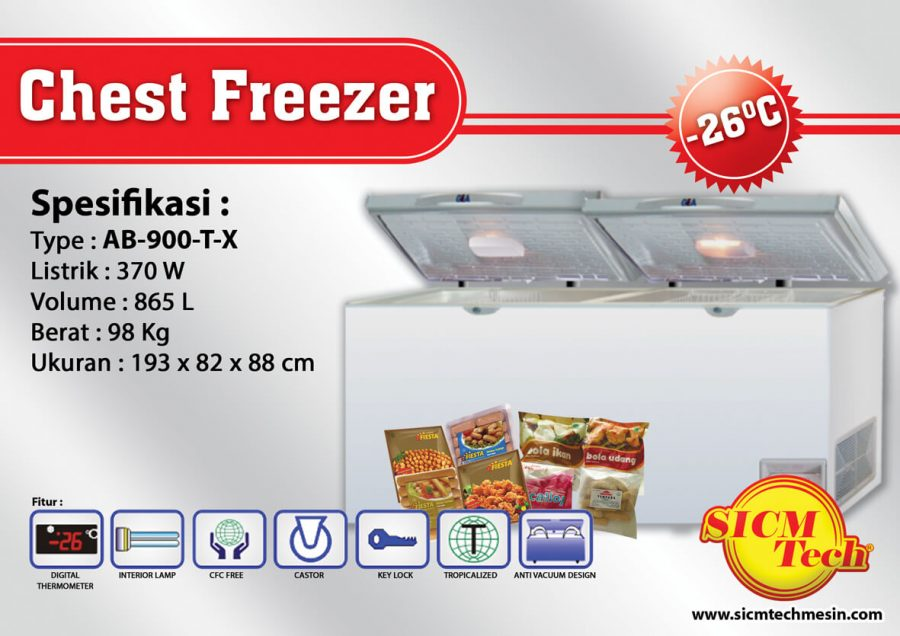 Chest Freezer AB 900-T-X