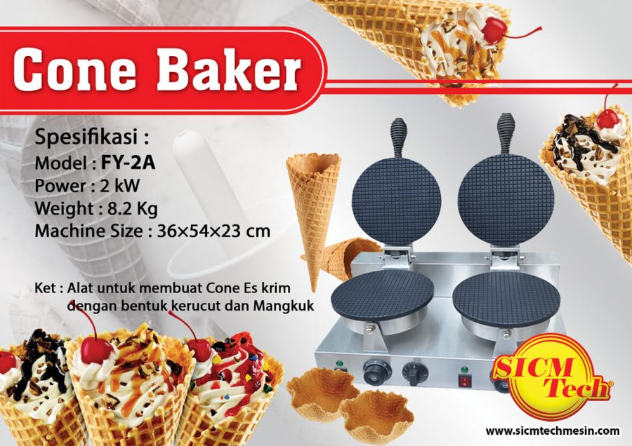 Cone Baker 2 Plate