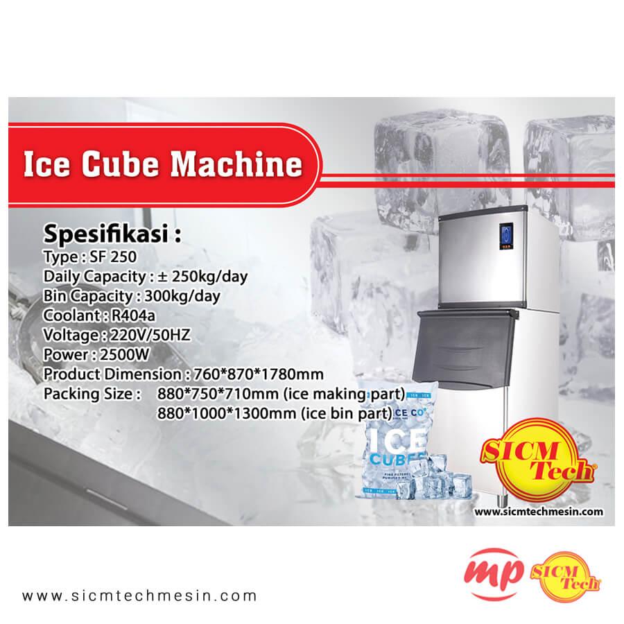 Ice Cube Machine 250