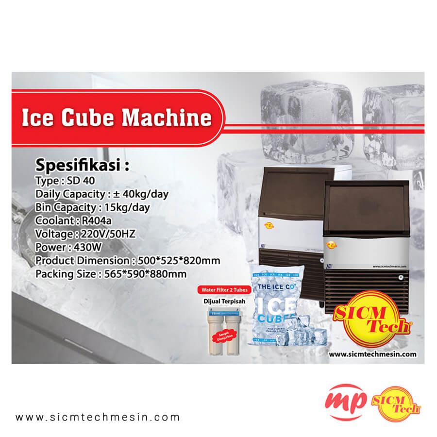 Ice Cube Machine 40