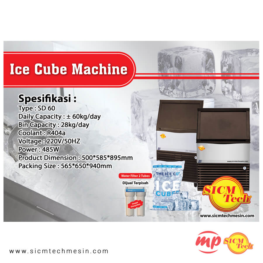 Ice Cube Machine 60
